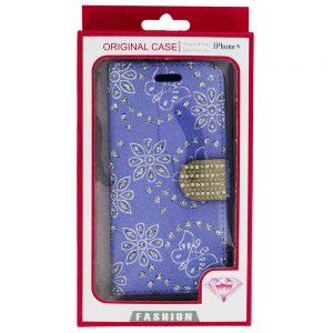 iPhone 5 SE Bling Diamond Wallet Case Ppl