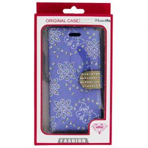 iPhone 6 6S Plus Bling Diamond Wallet Case Ppl