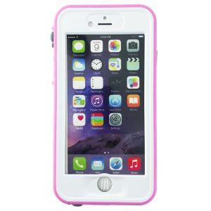 GeveyBox Umbrella iPhone 6 6S Waterproof Case- PINK