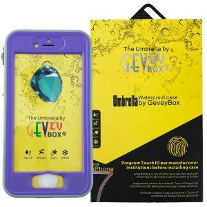 Umbrella DropProof Case for iPhone 7 Purple