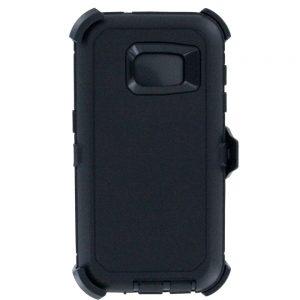 Warrior Case for Samsung Galaxy S7 Edge - Black