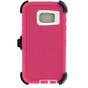 Warrior Case for Samsung Galaxy S7 Edge - Pink