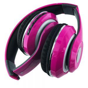 BT Stereo Wireless Headphones [STN-13]- HOT PINK