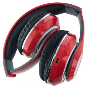 BT Stereo Wireless Headphones [STN-13]- RED