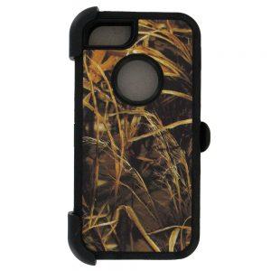 Warrior Camo Case for iPhone 5 5S SE - BK/BK