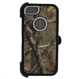 Warrior Camo Case for iPhone 5 5S SE - BK/WHT