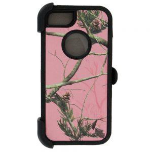 Warrior Camo Case for iPhone 5 5S SE - PNK/BK