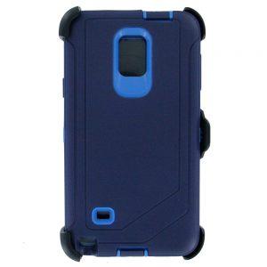 Warrior Case for Samsung Galaxy Note 4 - Blue