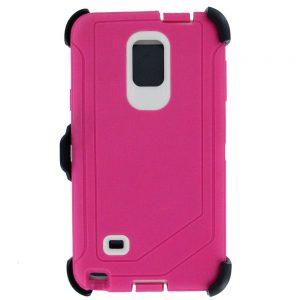 Warrior Case for Samsung Galaxy Note 4 - Pink
