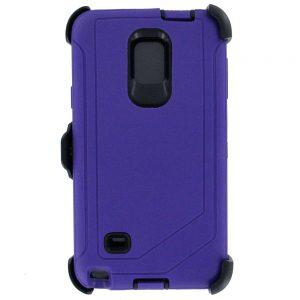 Warrior Case for Samsung Galaxy Note 4 - Purple