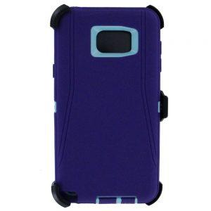 Warrior Case for Samsung Galaxy Note 5 - Purple