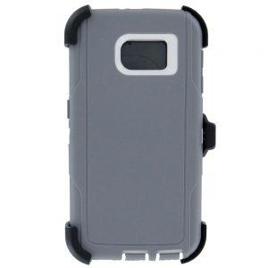 Warrior Case for Samsung Galaxy S6 Edge - Gray