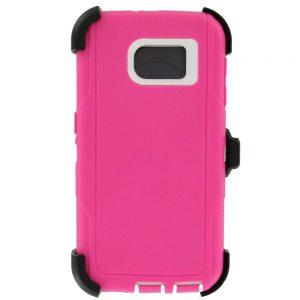 Warrior Case for Samsung Galaxy S6 Edge - Pink