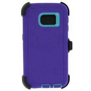 Warrior Case for Samsung Galaxy S6 Edge - Purple