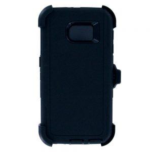Warrior Case for Samsung Galaxy S6 Edge - Black